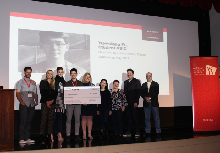 The American Society of Interior Designers Announces Student Award Winners