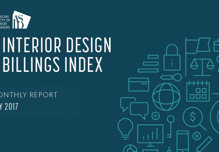 ASID Interior Design Billings Index IDBI May 2017 Report
