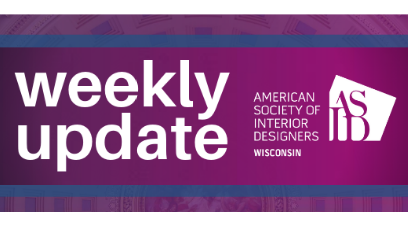ASID WISCONSIN WEEKLY ENEWSLETTER